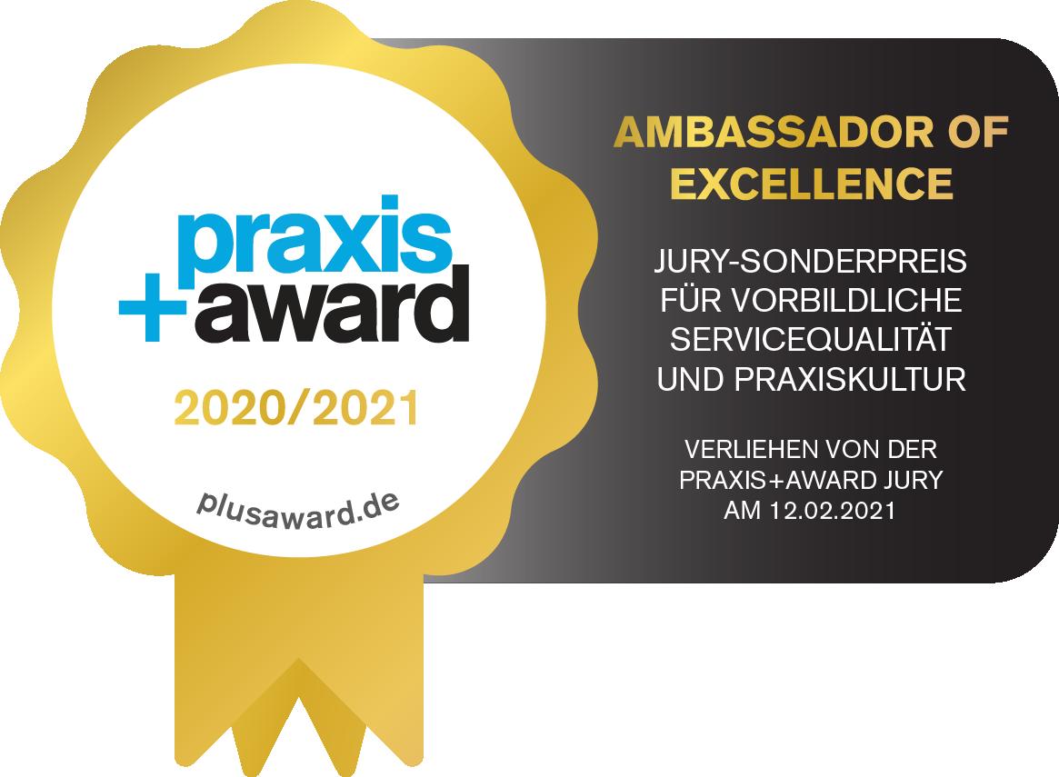 Praxis Plus award